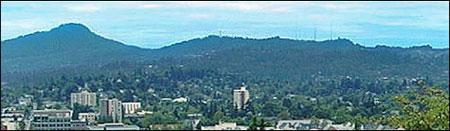 Eugene, Oregon Panorama