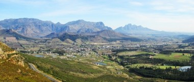 View from Franschhoek Pass