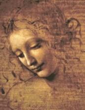 Da Vinci La Scapigliata Drawing