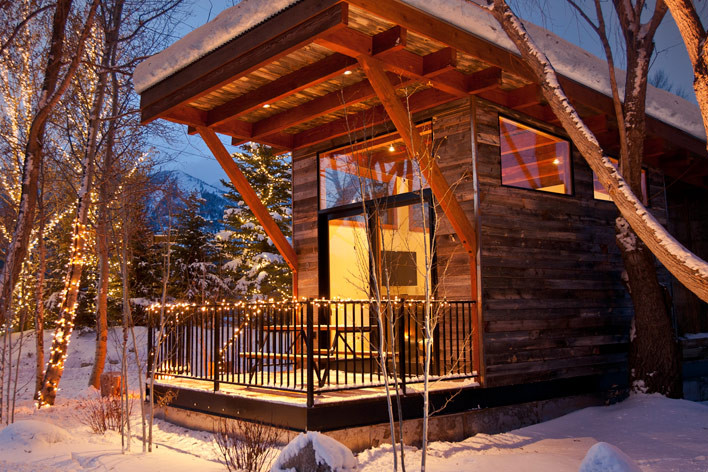Test Drive A Tiny Home In Jackson Hole Wyoming Suerieger