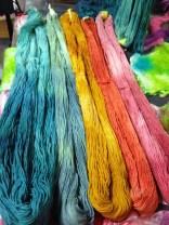 Dye Day #1 Hombre yarn 2015