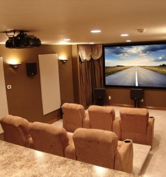 dedicated home theater for a crowd [ 1024 x 768 Pixel ]
