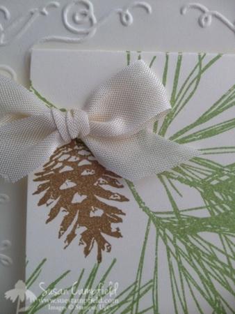 Ornamental Pines with Party Pennants Die 2-imp