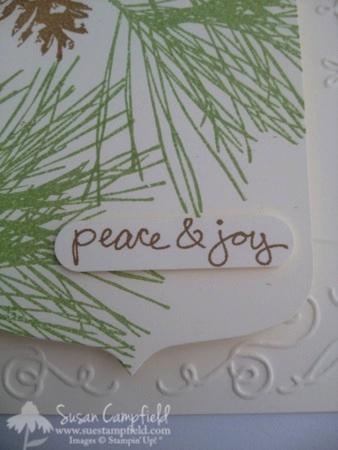 Ornamental Pines with Party Pennants Die 5-imp