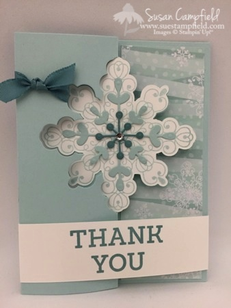 Whip-It Wednesday Snowflake Card Thinlits Dies All Is Calm Flip Card1-imp