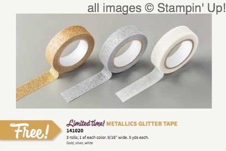 Metallics Glitter Tape - 1