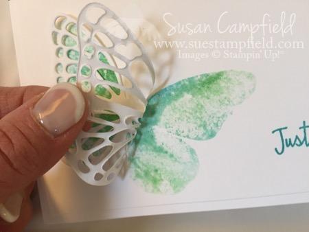 Baby Wipe Technicque Watercolor Wings - 6