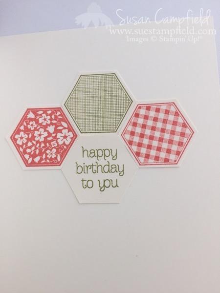 Hexagon Six Sided Sampler Pretty Petals - 5