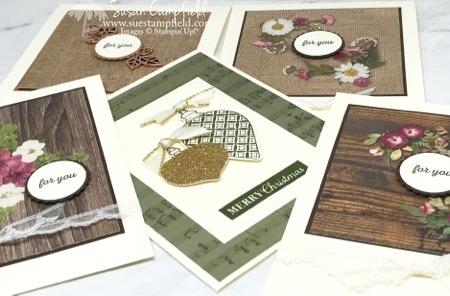 Pressed Petals Cards - 9