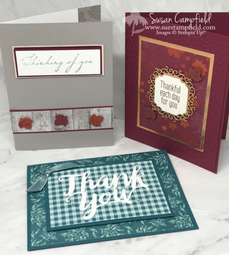 Stampin' up! Come To Gather Cards - 1
