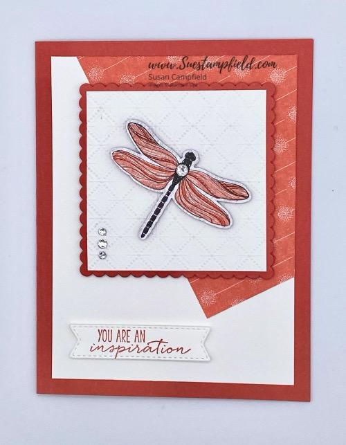 Dragonfly Garden Trapezoid One Sheet Wonder - 1