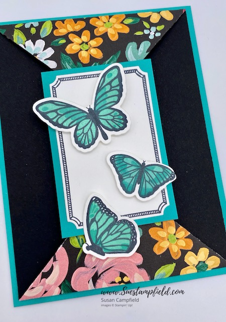 Floating & Fluttering Double Point Card - 4
