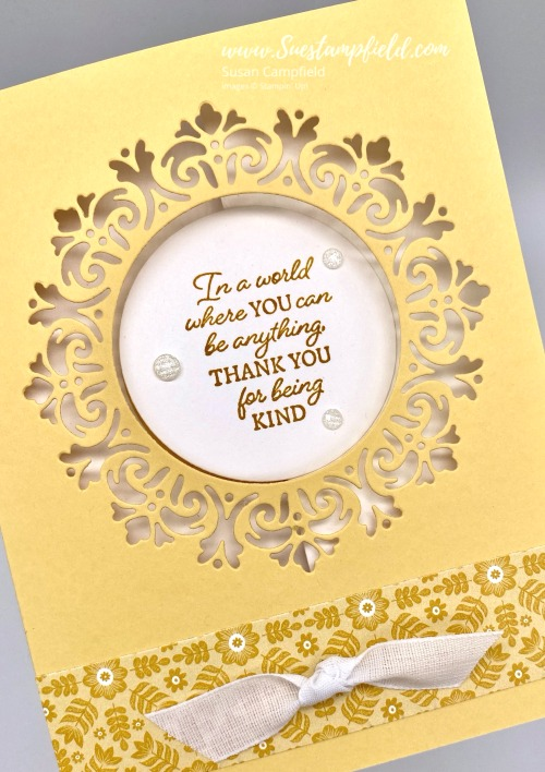 Encircled In Friendship Circle Panel Pull Out Cards - 1