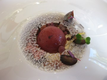 Grape dessert, Villa René Lalique, ©Sue Style