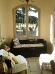 A quiet corner at Mas Figueres, photo Sue Style