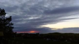 Sunset 1 December