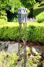 Spring Rain - granite on steel - SOLD
