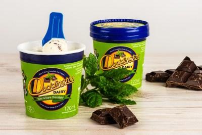 Mint & Dark Chocolate Ice Cream