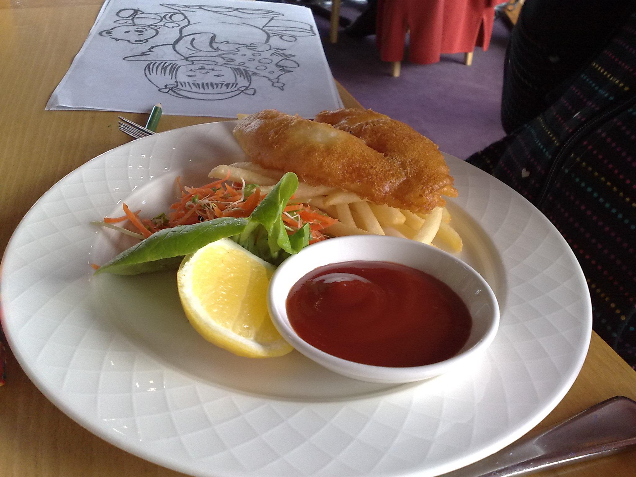 Child's fish and fries