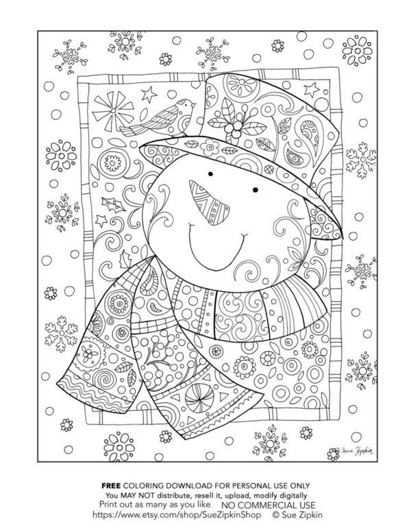 Blogging With Dyslexia: Winter Wonderland Snowman FREE