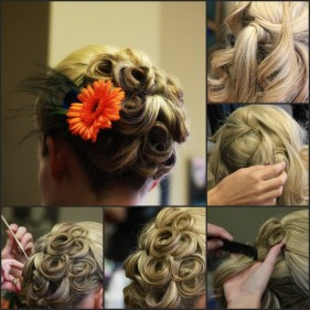 Amazing Grace Designs wedding hair