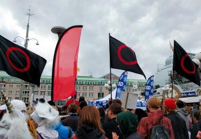 Demonstration mot Sverigedemokraterna i Göteborg