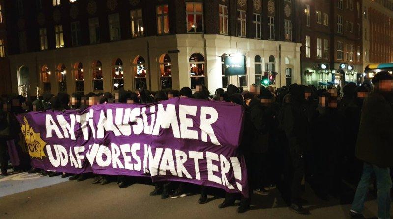 Antirasistisk blockad i Köpenhamn