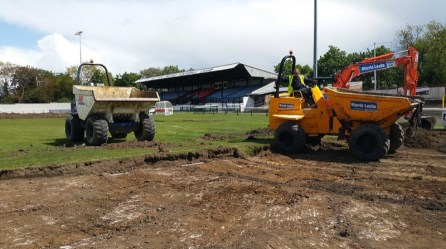 Sutton United 3G Pitch Development_1000