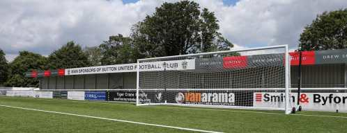 Sutton United FC 3G Pitch Goal Posts