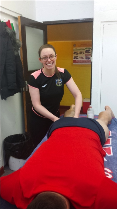 Sports Therapist Catherine Chambers