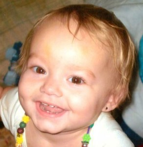 Alissa Guernsey with a big smile. (BabyAlissaCries4Justice)