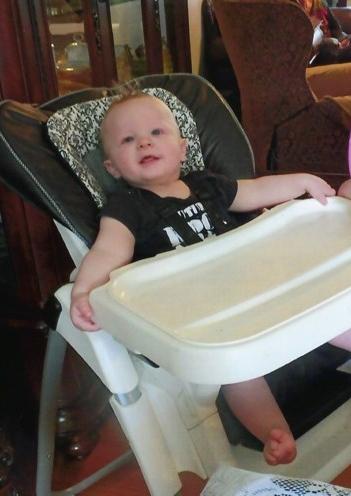Baby Aidan Xavier Leonardo