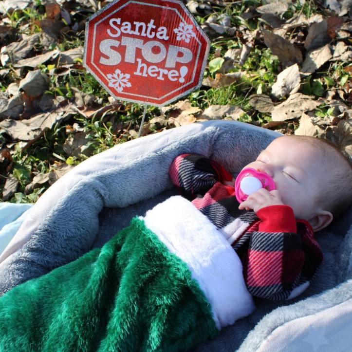 RheaLeigh Webber at Christmastime