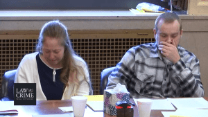 Jessica and Daniel Groves break down crying during day 2 of their murder trial
