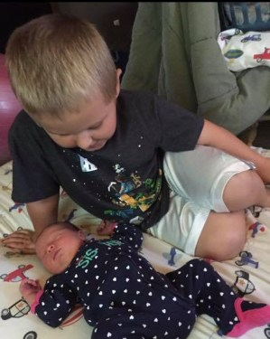 Conner and Brinley Snyder
