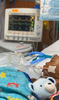 Jayden McGee fighting for his life in the hospital