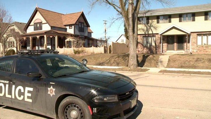 Police respond to the Milwaukee house where Autumn Horak died