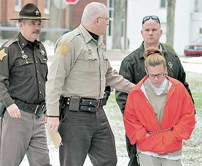 Christy Shaffer after being sentenced for her drug charge. (KPC News)