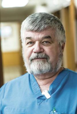Dr. John Egli in 2017 (KPC News)