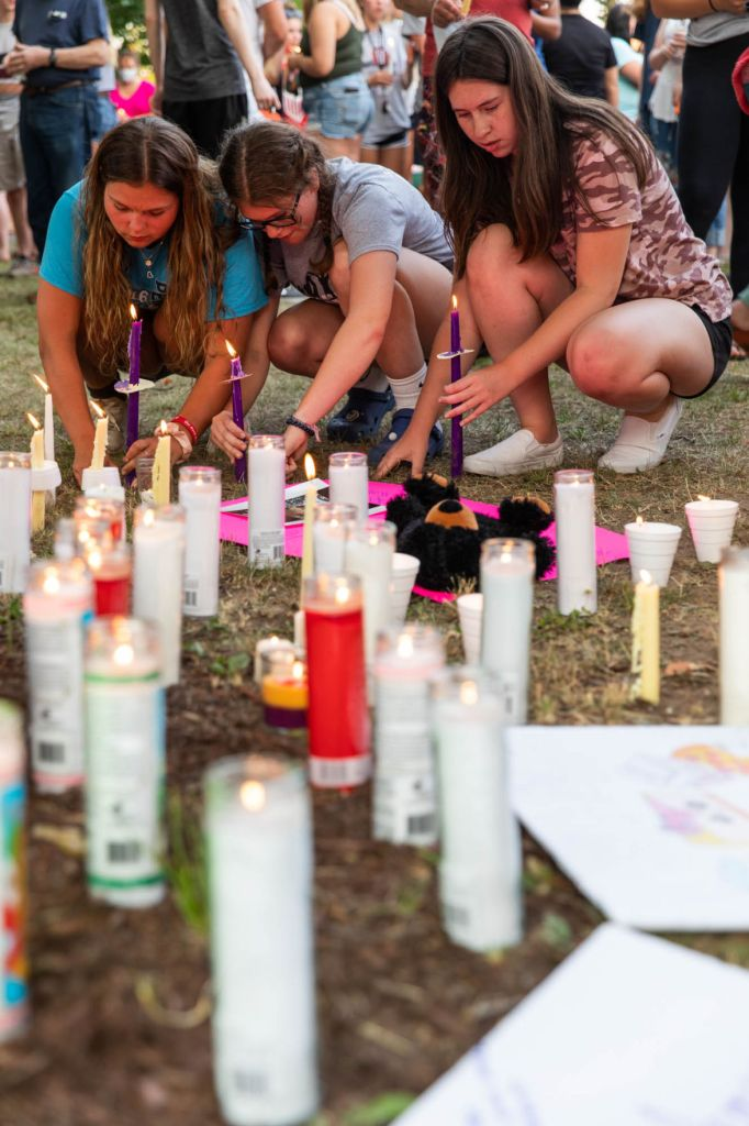 Treyanna Summerville vigil on June 22