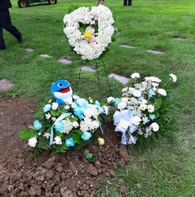Zyaire Reed grave