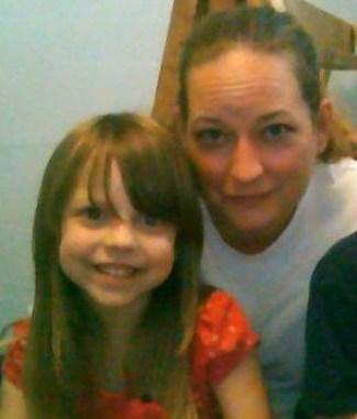 Lauren McConniel and mother Amber Huggins