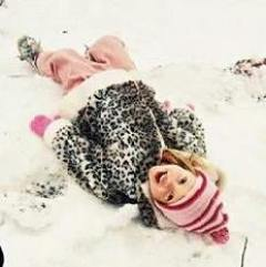 Lauren McConniel in the snow