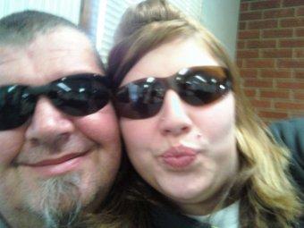 Robert and daughter Samra Lee