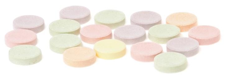 Smarties tablet candies