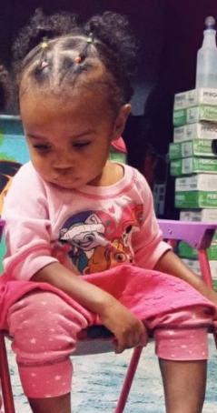 Erykah Taylor toddler