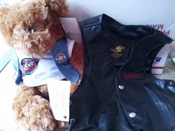 Averylee Hobbs BACA bear and vest