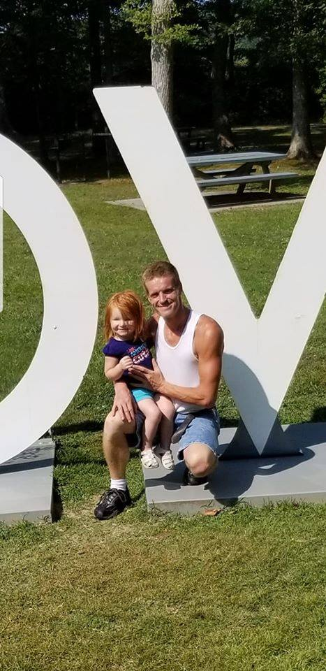 Arabella Parker and her father, Karl Parker. (Facebook)