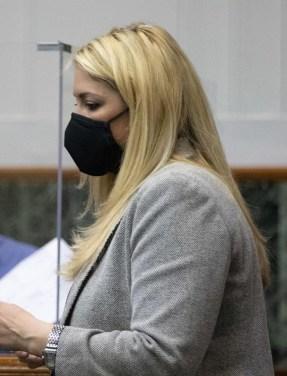 Prosecutor Rachel Romano. (Matt Harvey/WV News)