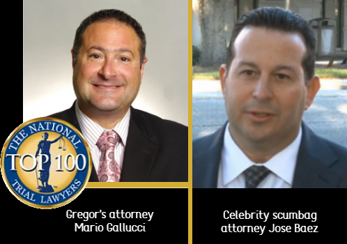 Mario Galluci side by side with Jose Baez